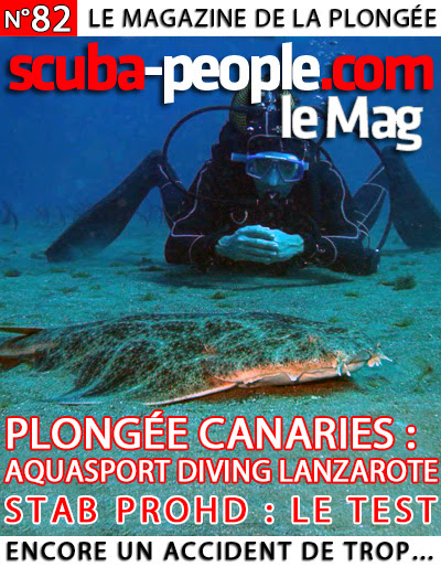 PLONGER À LANZAROTE CHEZ AQUASPORT DIVING
